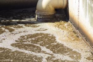Dirty waste water