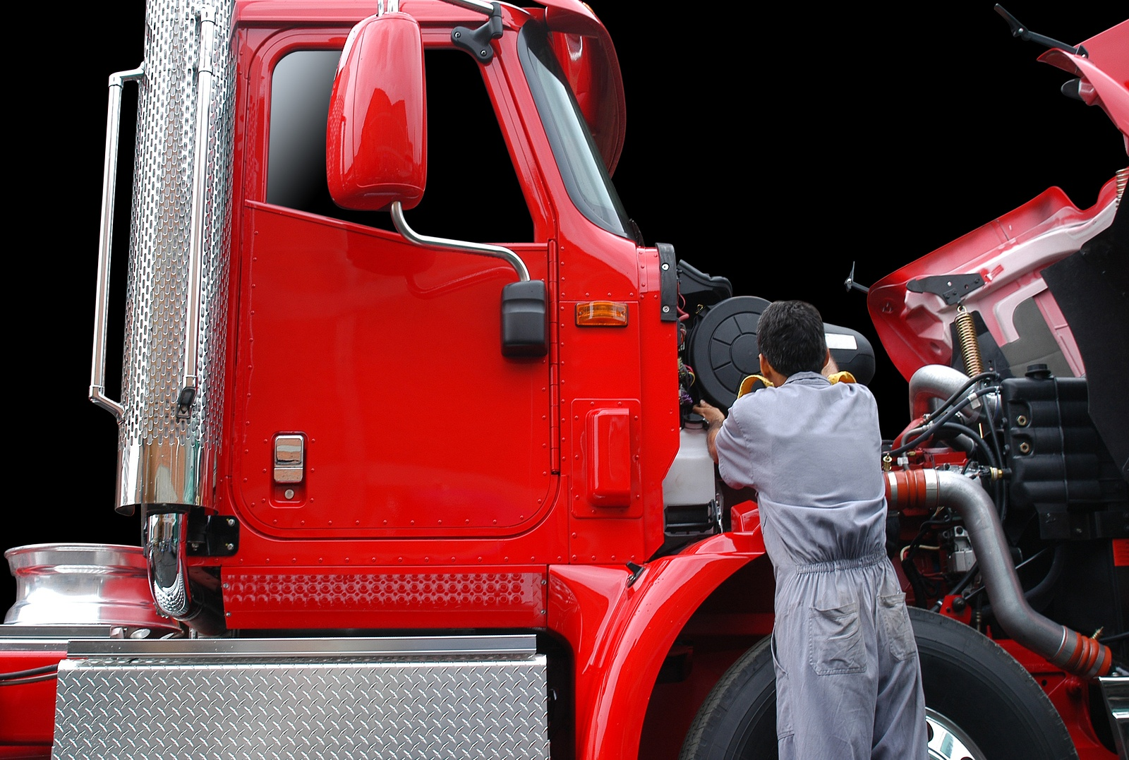 bigstock-Fixing-truck--6248983